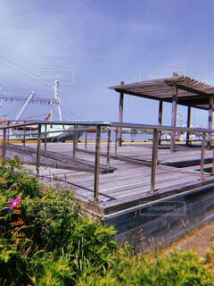 港の風景の写真・画像素材[3975688]