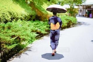 浴衣の女性の写真・画像素材[4709726]