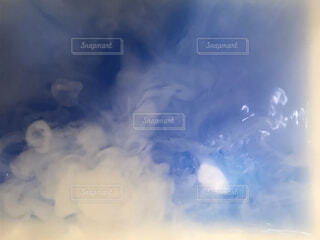空の雲のクローズアップの写真・画像素材[4012155]