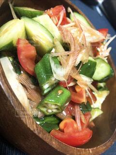 彩りサラダの写真・画像素材[3957331]