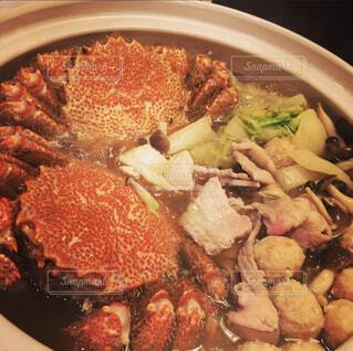 おうちでかに鍋の写真・画像素材[3958857]