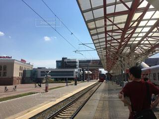 駅,鉄道,ロシア