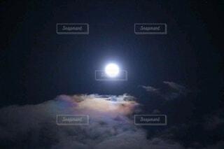 月空の写真・画像素材[3954129]