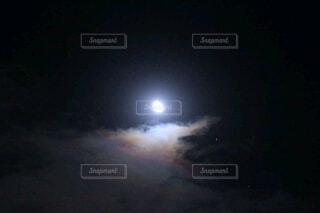 月空の写真・画像素材[3954131]