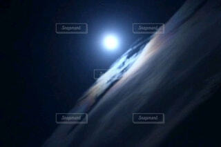 月空の写真・画像素材[3956421]