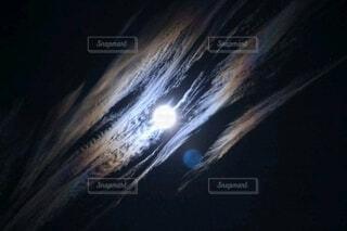 月空の写真・画像素材[3956442]