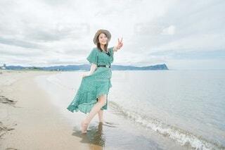 海で夏を感じるの写真・画像素材[4649196]