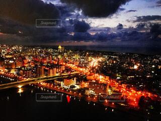 新潟の市街の写真・画像素材[4065093]