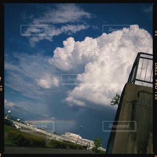 空港と空の写真・画像素材[3953601]