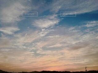 夕暮れの空の写真・画像素材[3959625]