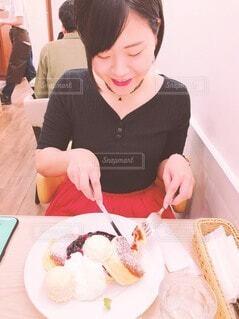 パンケーキの写真・画像素材[3962264]