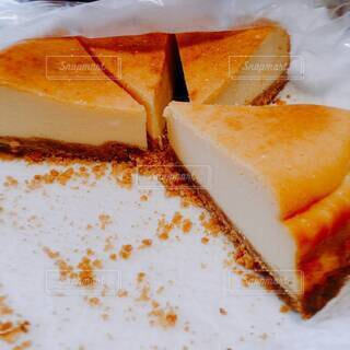 手作りチーズケーキの写真・画像素材[3981312]