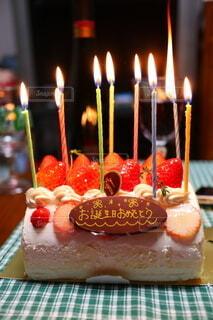 バースデーケーキの写真・画像素材[3981314]