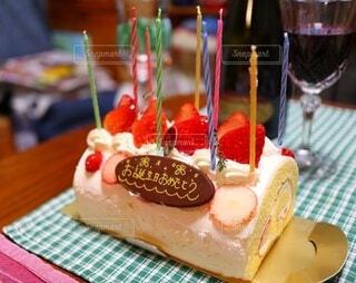 バースデーケーキの写真・画像素材[3981313]