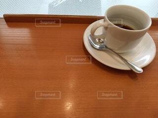 一人でコーヒータイムの写真・画像素材[3959103]