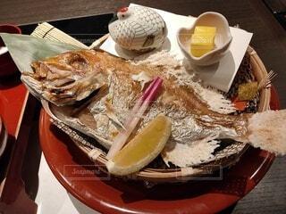 お食い初め膳(鯛)の写真・画像素材[3974315]