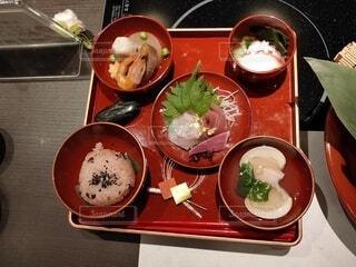お食い初め膳(小鉢)の写真・画像素材[3975482]