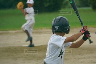 野球少年の写真・画像素材[3977329]