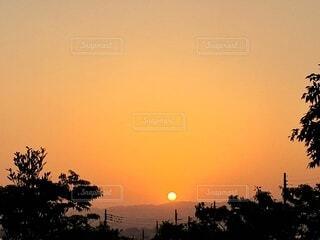夕暮れ空の写真・画像素材[3979151]
