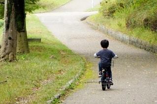 少年チャリの写真・画像素材[3979278]