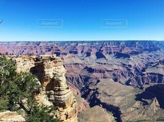 峡谷の眺めの写真・画像素材[4124041]