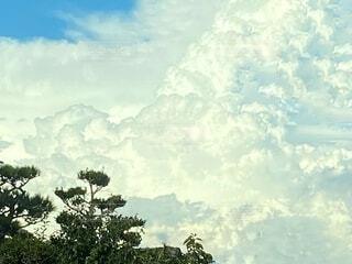 巨大な入道雲の写真・画像素材[3984590]