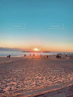 海,朝日,海岸,正月,お正月,日の出,新年,初日の出