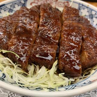 ソースカツ丼の写真・画像素材[3978946]