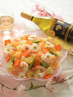 和食に合うワインの写真・画像素材[4310284]