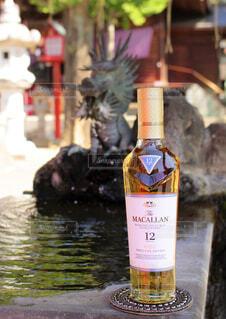 神社,旅,ボトル,ウイスキー,シングルモルト,入手水舎,プレミアムウイスキー,ザ・マッカラン トリプルカスク12年