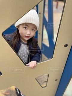 公園で遊ぶ女の子の写真・画像素材[4025985]