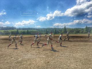 スポーツ,走る,ランニング,野球,青春,ゲームセット,夏スポーツ