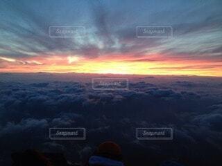 自然,空,屋外,朝日,雲,正月,お正月,日の出,新年,初日の出,眺め,高い,富士山頂上
