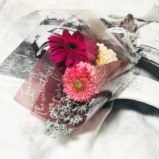 ピンクの花束の写真・画像素材[4166626]