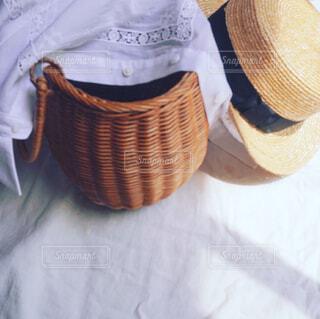 夏のファッション支度の写真・画像素材[4431143]