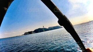supで江の島を目指すの写真・画像素材[4002352]