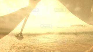海,空,屋外,太陽,朝日,ビーチ,水面,水平線,光,腕,眩しい,湘南,パドル,サンシャイン,サンライズ,江の島,sup,サップ