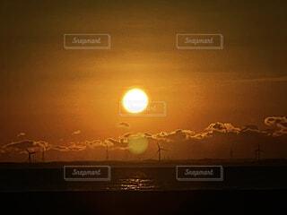 海,太陽,朝日,オレンジ,朝焼け,正月,お正月,日の出,新年,初日の出