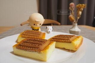 ビスケットチーズケーキの写真・画像素材[4020646]