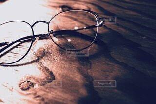 サングラス,ガラス,テーブル,ゴーグル,木目,メガネ