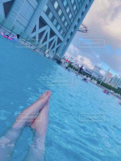 プールの写真・画像素材[4411774]