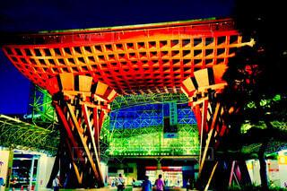 金沢駅前の写真・画像素材[4453726]