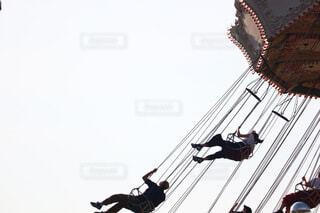 空中ブランコの写真・画像素材[4638543]