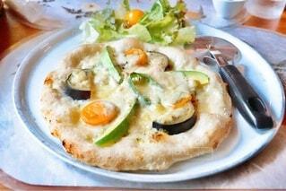 夏野菜のピッツァの写真・画像素材[4661531]