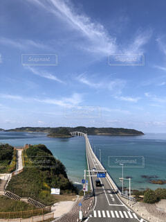 角島大橋の写真・画像素材[4005097]