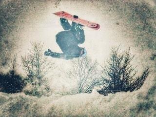 冬,雪,屋外,ジャンプ,運動,ウィンタースポーツ,トリック,動く,スノーボード ボード