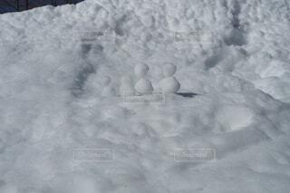 自然,冬,森林,雪,雪だるま