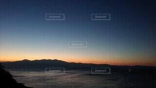 自然,海,空,屋外,朝日,水面,朝焼け,正月,朝,お正月,日の出,新年,初日の出