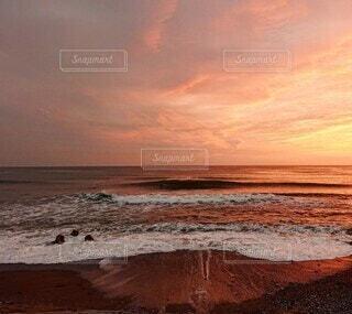 自然,風景,海,空,太陽,朝日,サーフィン,ビーチ,砂浜,海岸,朝焼け,正月,お正月,日の出,新年,初日の出