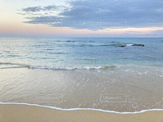 自然,風景,海,空,屋外,砂,ビーチ,雲,静か,砂浜,波,水面,海岸,夕方,沖縄